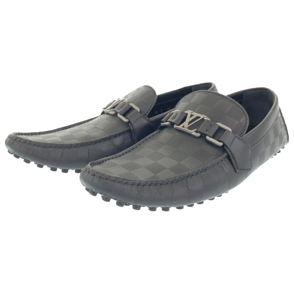 Louis Vuitton N Leather Flats for Men 7 US