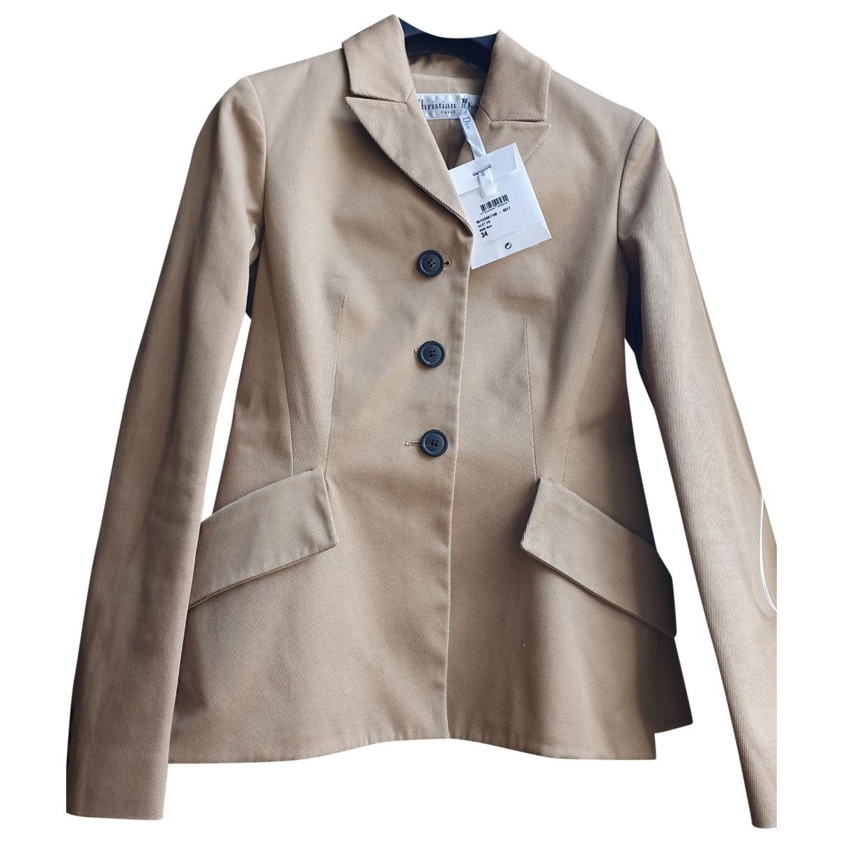 Dior \N Beige Cotton jacket for Women 34 FR