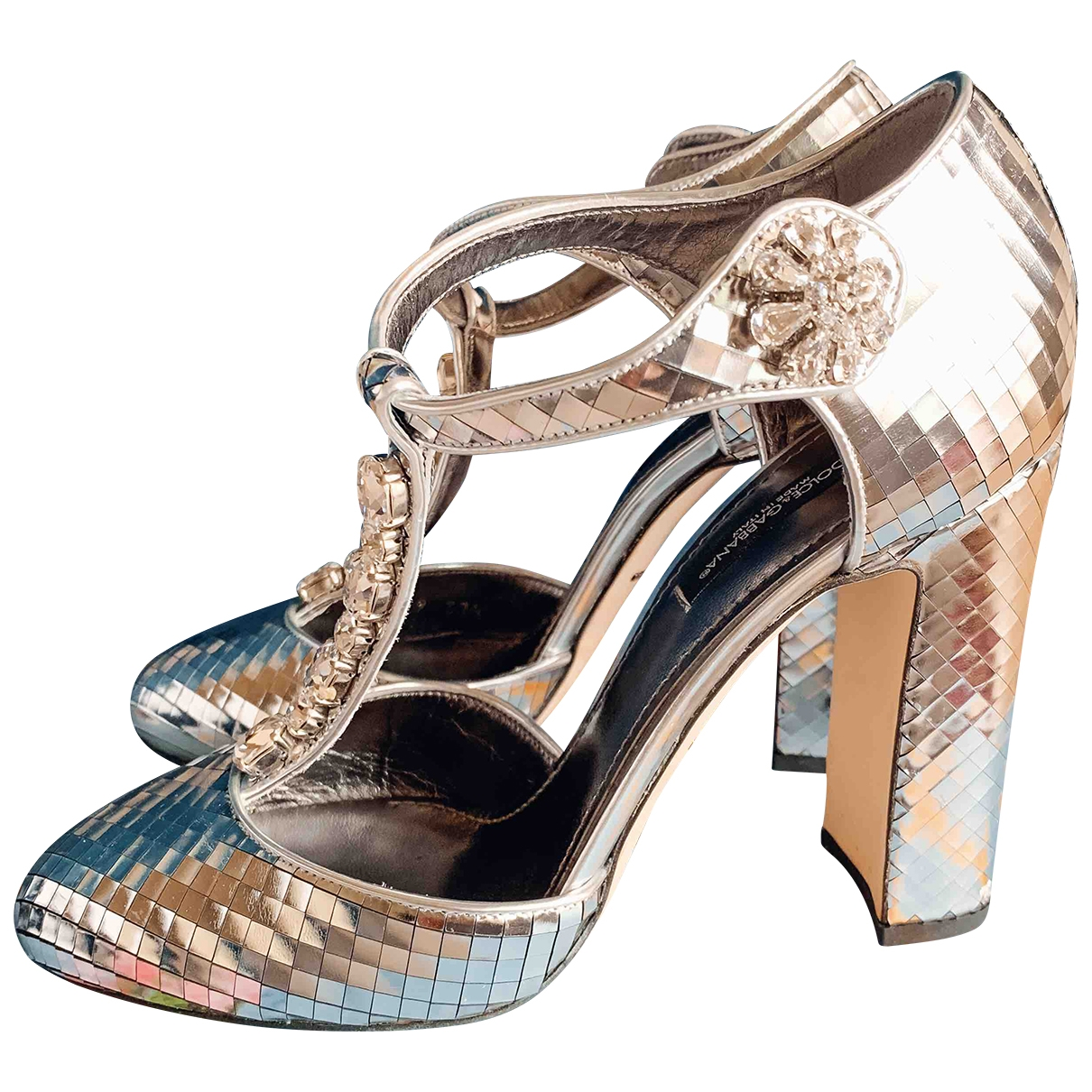 Dolce & Gabbana \N Pumps in  Silber Polyester