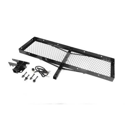 Rugged Ridge Receiver Hitch with Cargo Rack - 11580.20