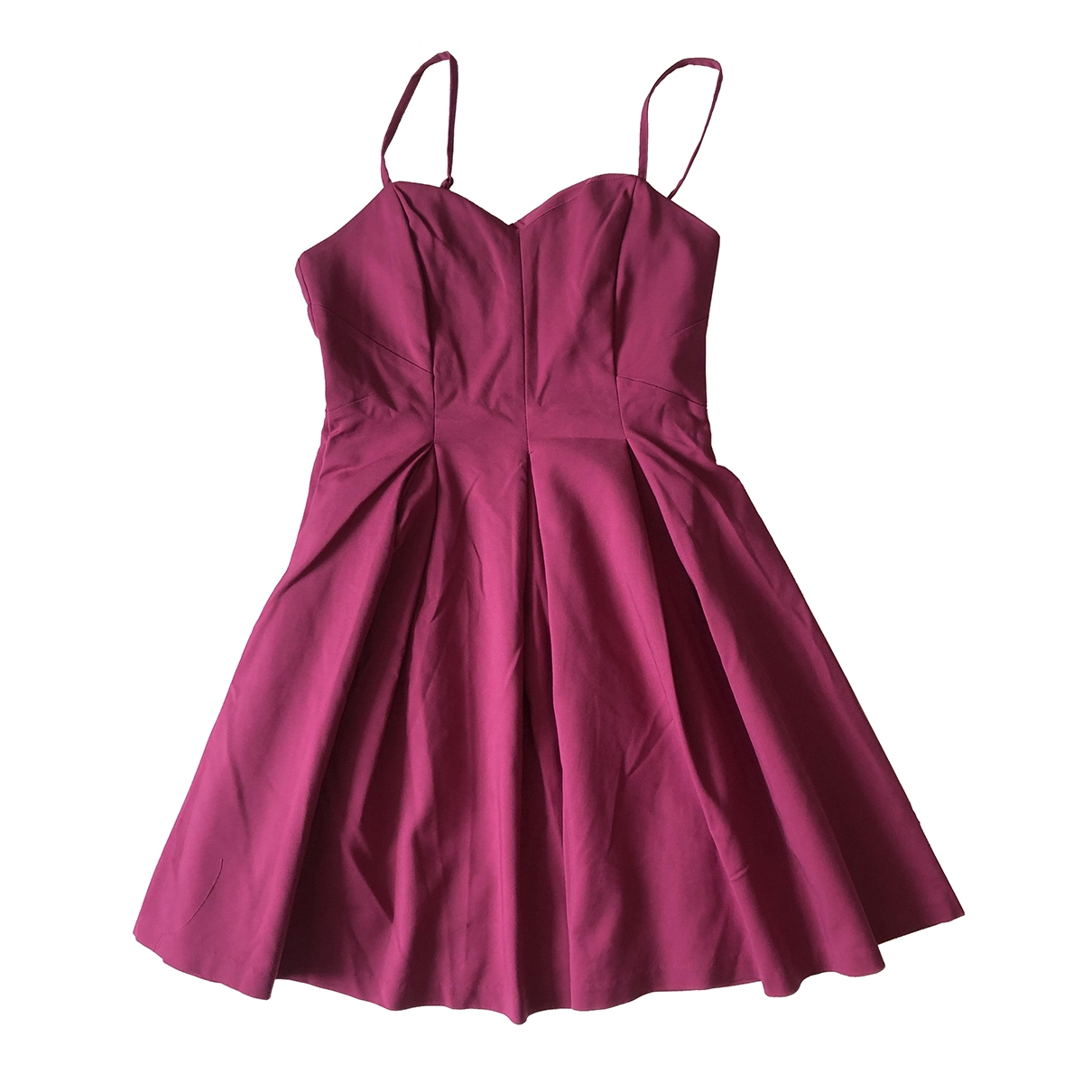 Non Signe / Unsigned \N Kleid in  Rosa Baumwolle - Elasthan
