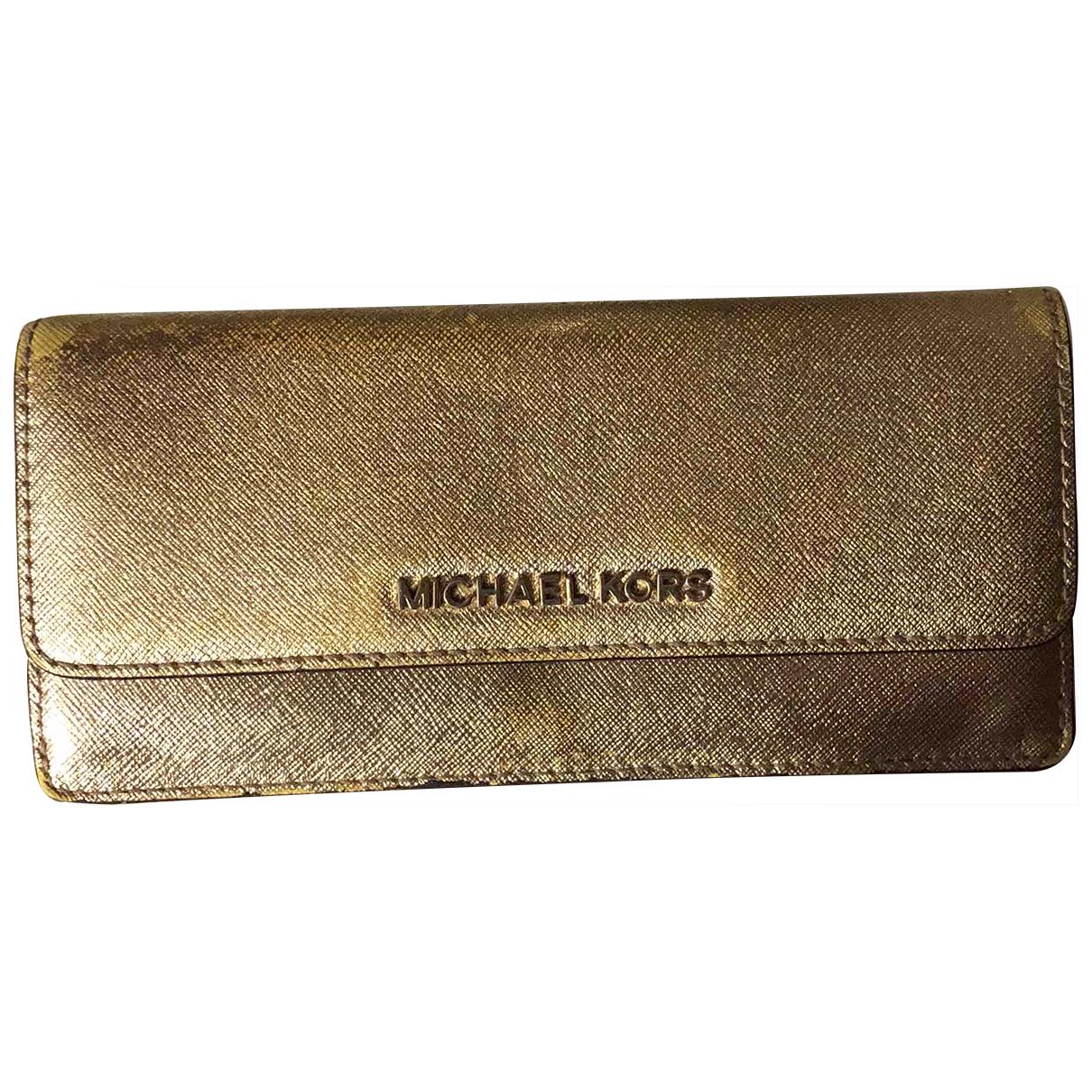 Michael Kors - Portefeuille   pour femme en cuir
