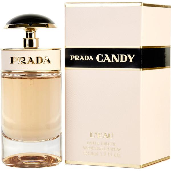 Prada - Candy Leau : Eau de Toilette Spray 1.7 Oz / 50 ml