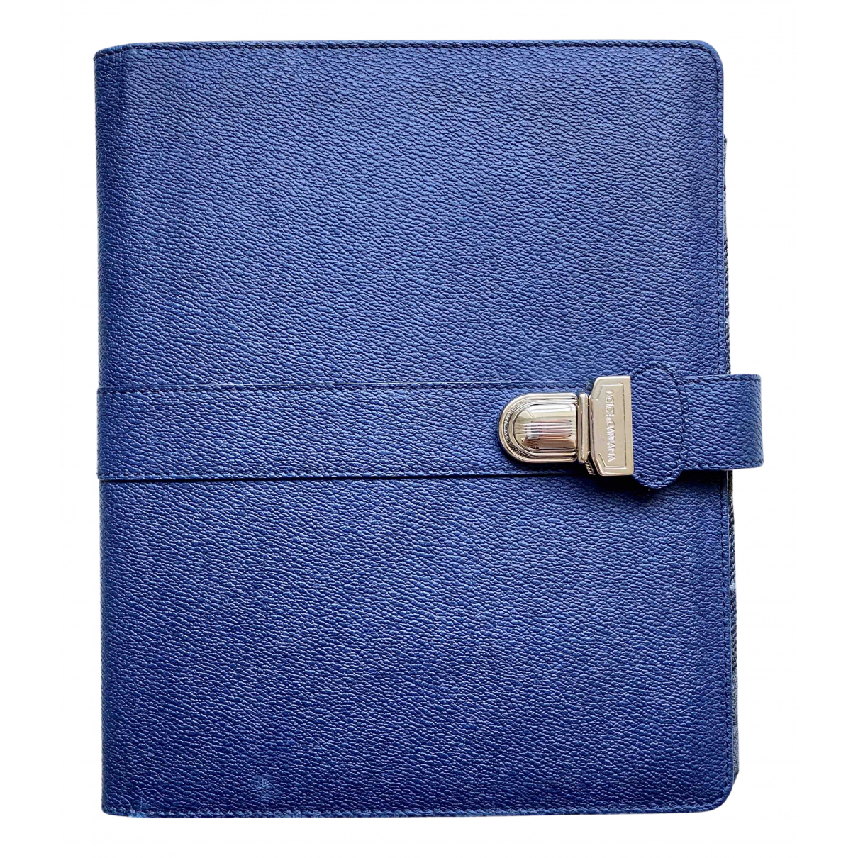 Dolce & Gabbana - Accessoires   pour lifestyle en cuir - marine