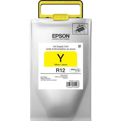 Epson R12 TR12420 Original Durabrite Ultra Yellow Ink Pack