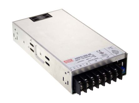Mean Well , 330W Embedded Switch Mode Power Supply SMPS, 15V dc, Enclosed