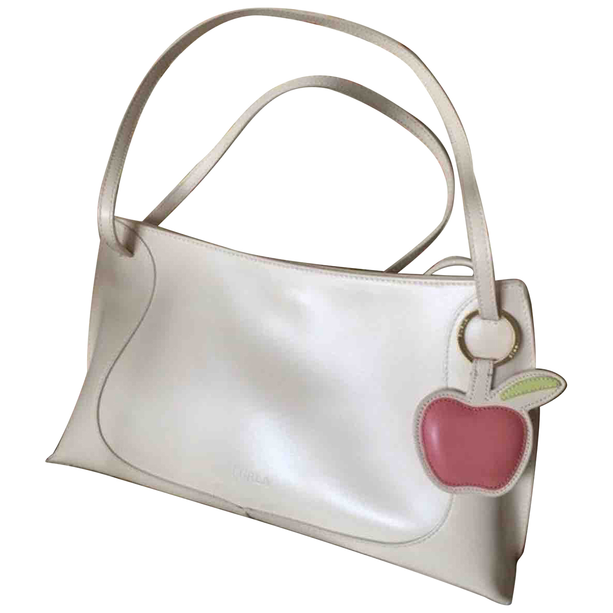 Furla \N Ecru Leather handbag for Women \N