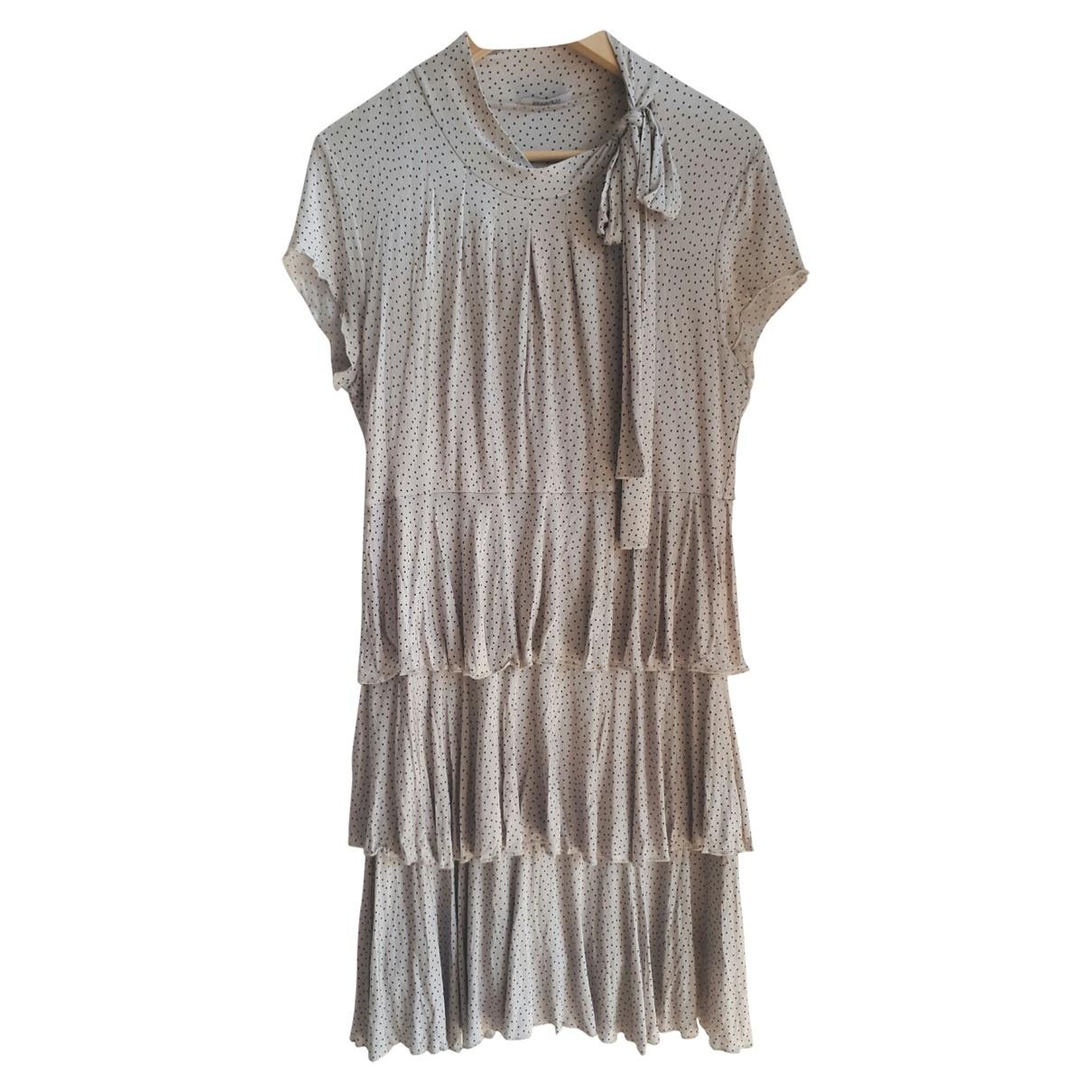 Max & Co \N Kleid in  Grau Viskose
