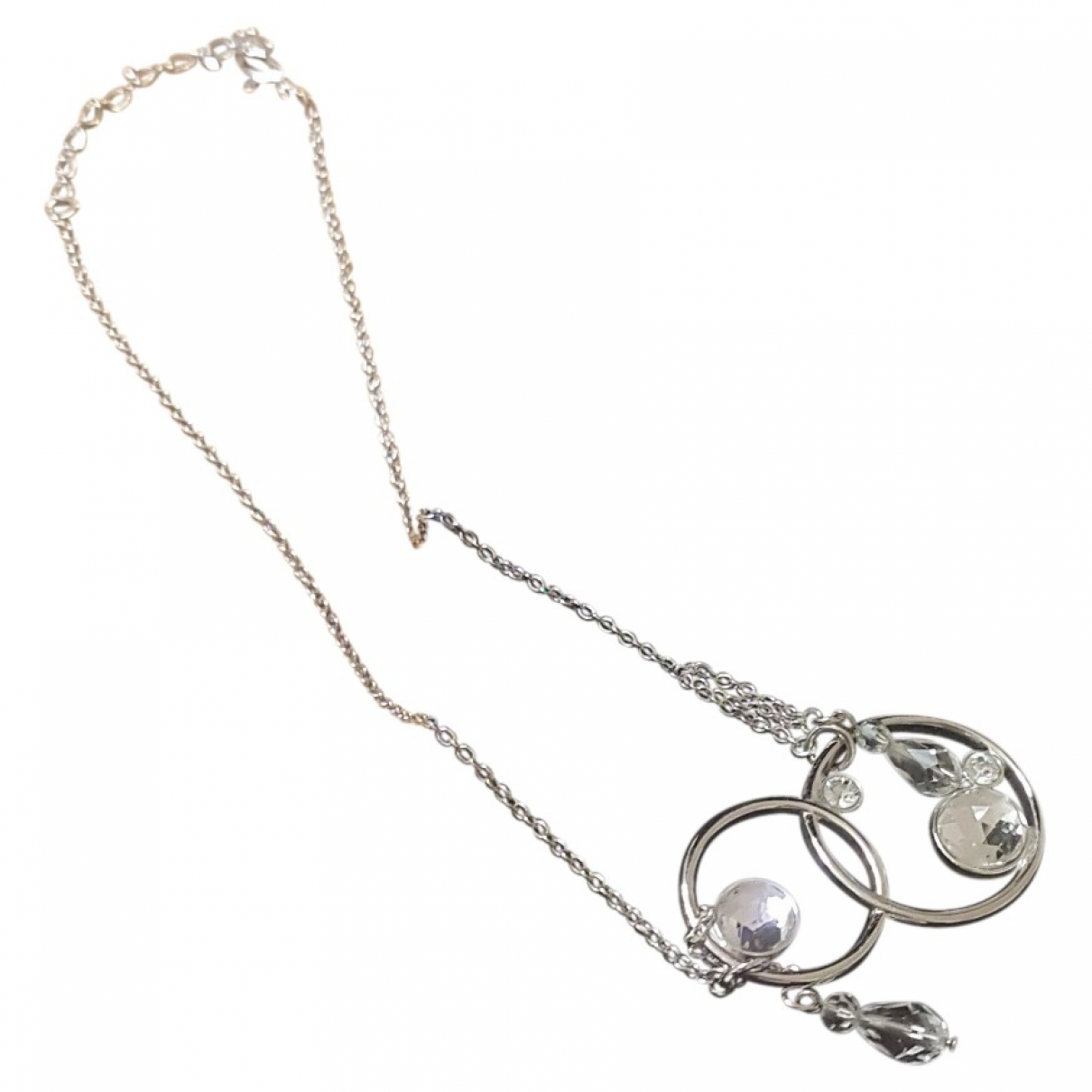Swarovski \N Halskette in  Silber Stahl