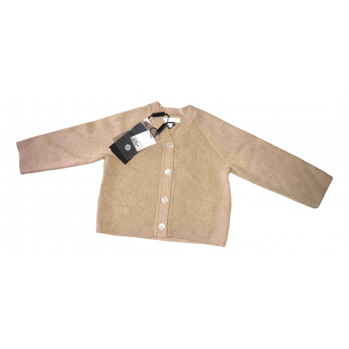 Burberry - Pull   pour enfant en cachemire - beige