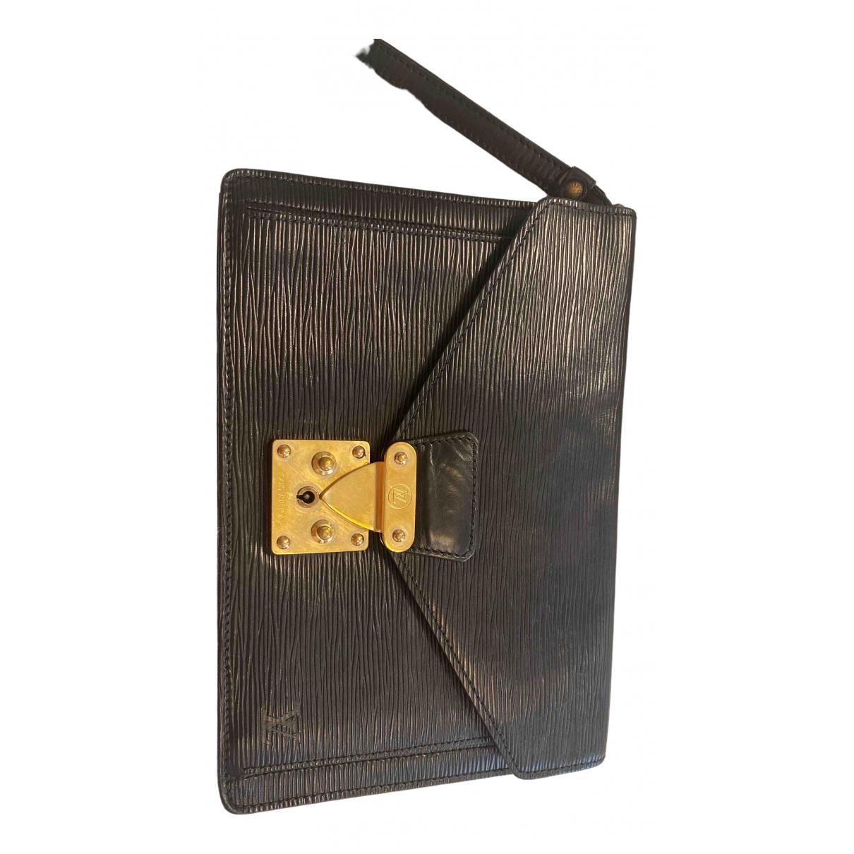 Louis Vuitton - Sac   pour homme en cuir - noir