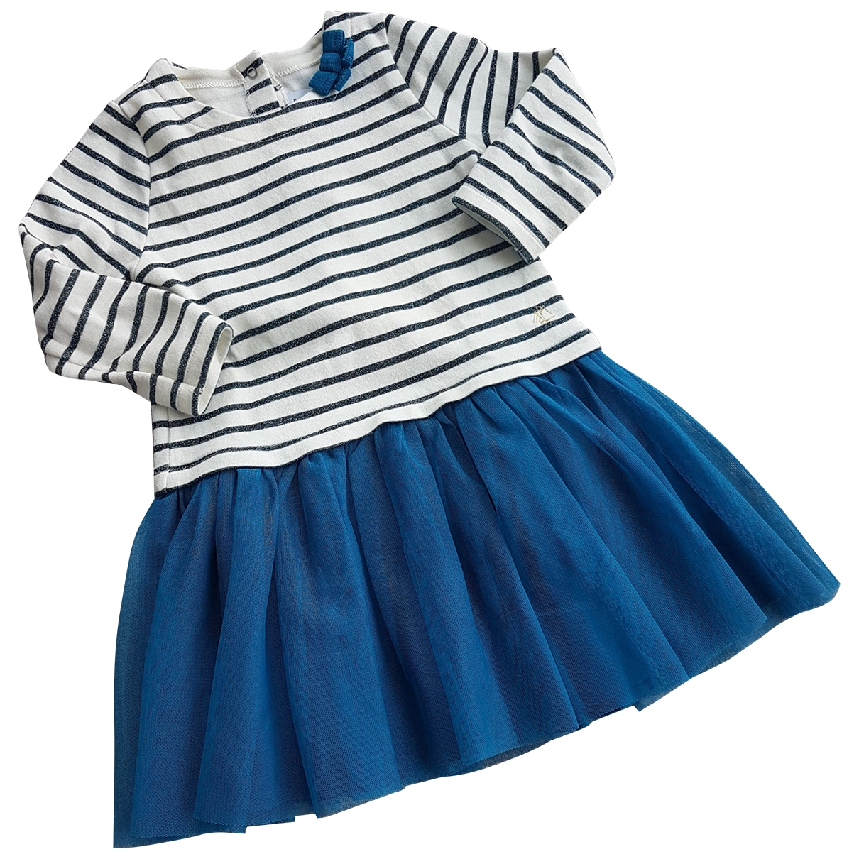 Petit Bateau \N Blue Cotton dress for Kids 2 years - up to 86cm FR