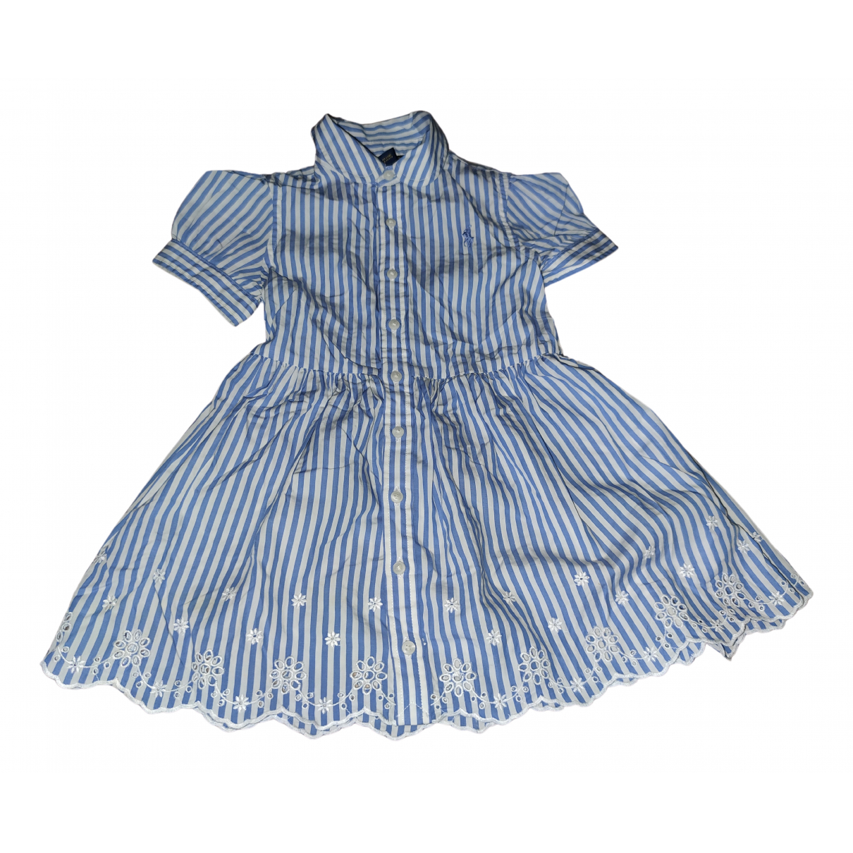 Polo Ralph Lauren N Turquoise Cotton dress for Kids 2 years - until 34 inches UK