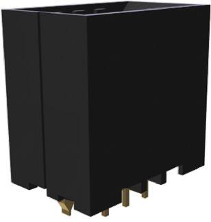 TE Connectivity , Dynamic 3000, 6 Way, 2 Row, Straight PCB Header