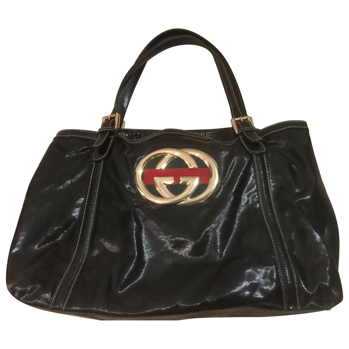 Gucci \N Black Patent leather handbag for Women \N