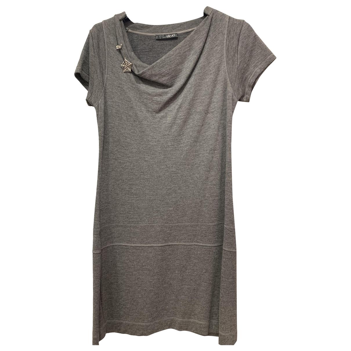 Liu.jo - Robe   pour femme - gris