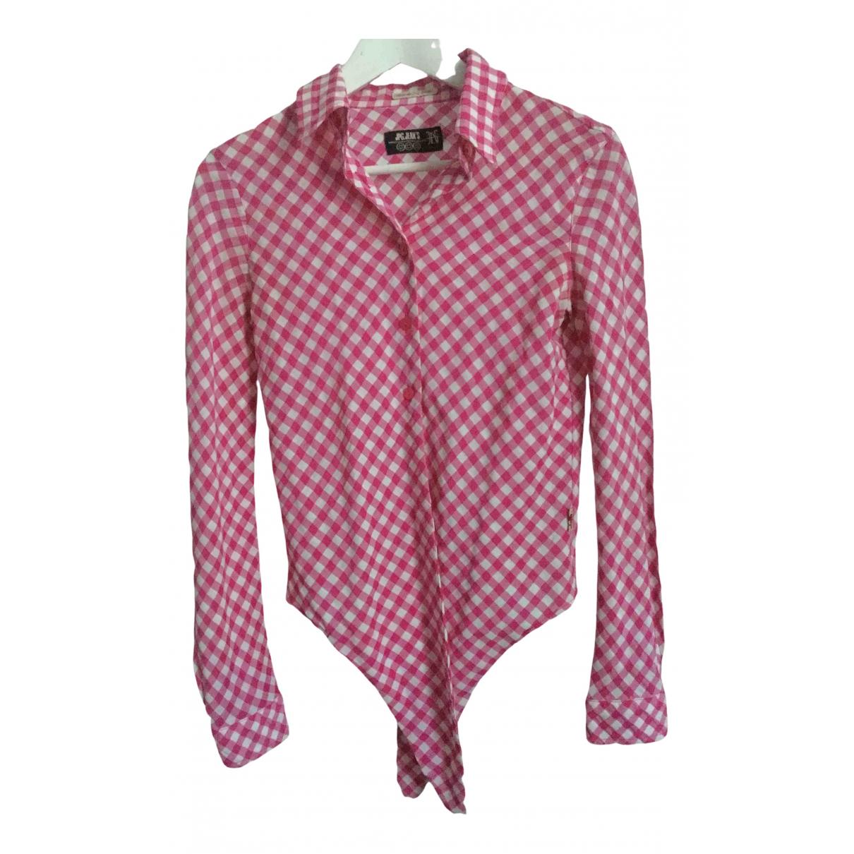 Jean Paul Gaultier \N Pink Cotton  top for Women S International