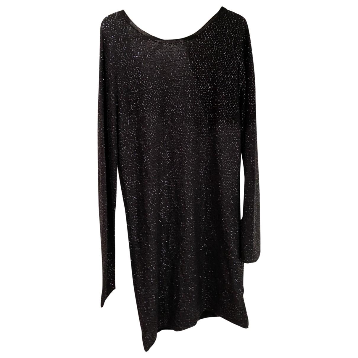Zadig & Voltaire \N Kleid in  Schwarz Baumwolle