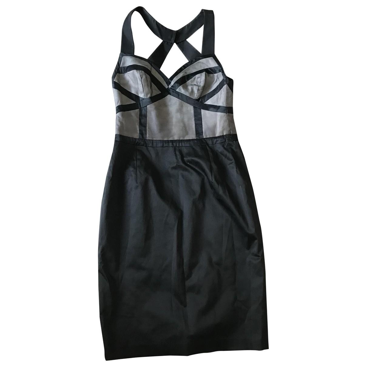 Reiss \N Black Cotton dress for Women 8 UK