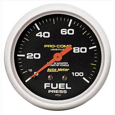 Auto Meter Pro-Comp Liquid-Filled Mechanical Fuel Pressure Gauge - 5412