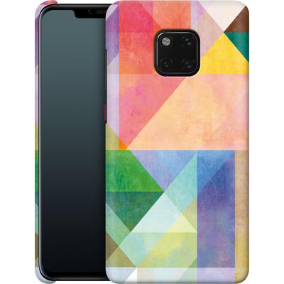Huawei Mate 20 Pro Smartphone Huelle - Color Blocking 1 von Mareike Bohmer