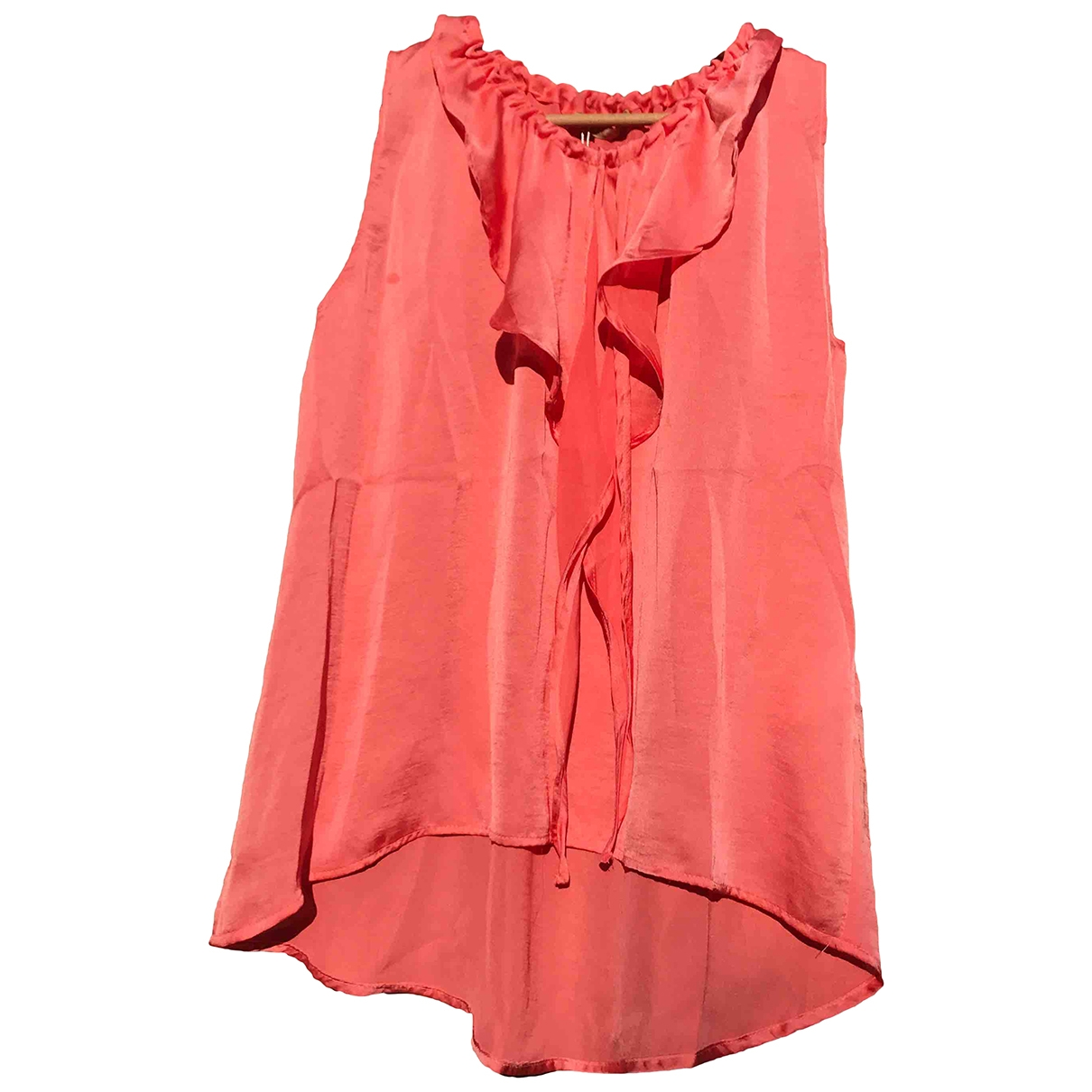 Non Signé / Unsigned \N Orange  top for Women S International