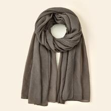Schal mit Falten