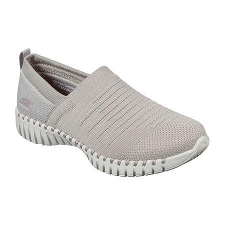 Skechers Go Walk Smart Wise Womens Walking Shoes, 6 Medium, Beige