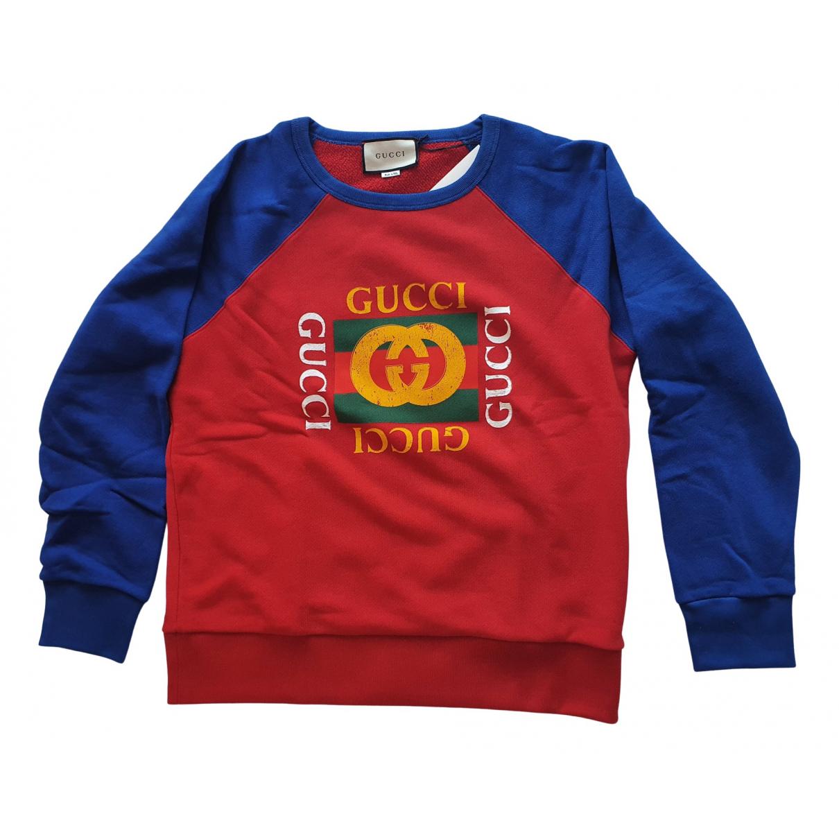 Gucci \N Pullover.Westen.Sweatshirts  in  Bunt Baumwolle