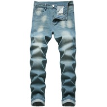 Guys Button Fly Jeans