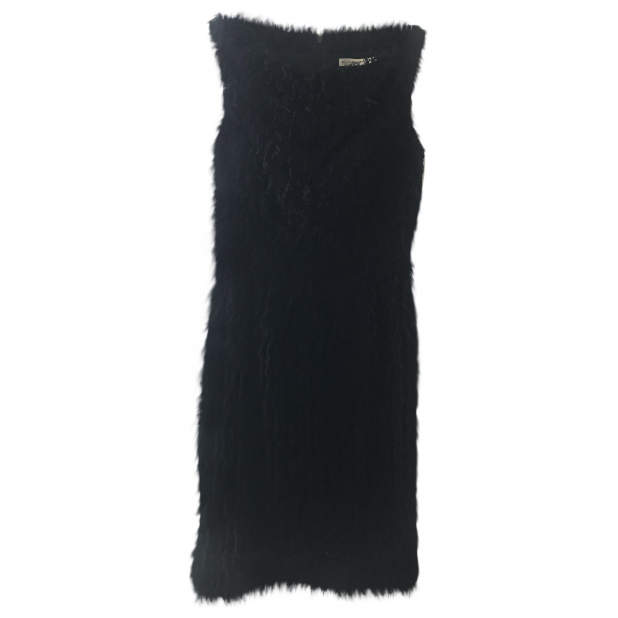 Balenciaga \N Black Wool dress for Women 38 FR