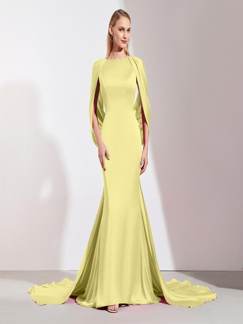 Ericdress Backless Mermaid Evening Dress