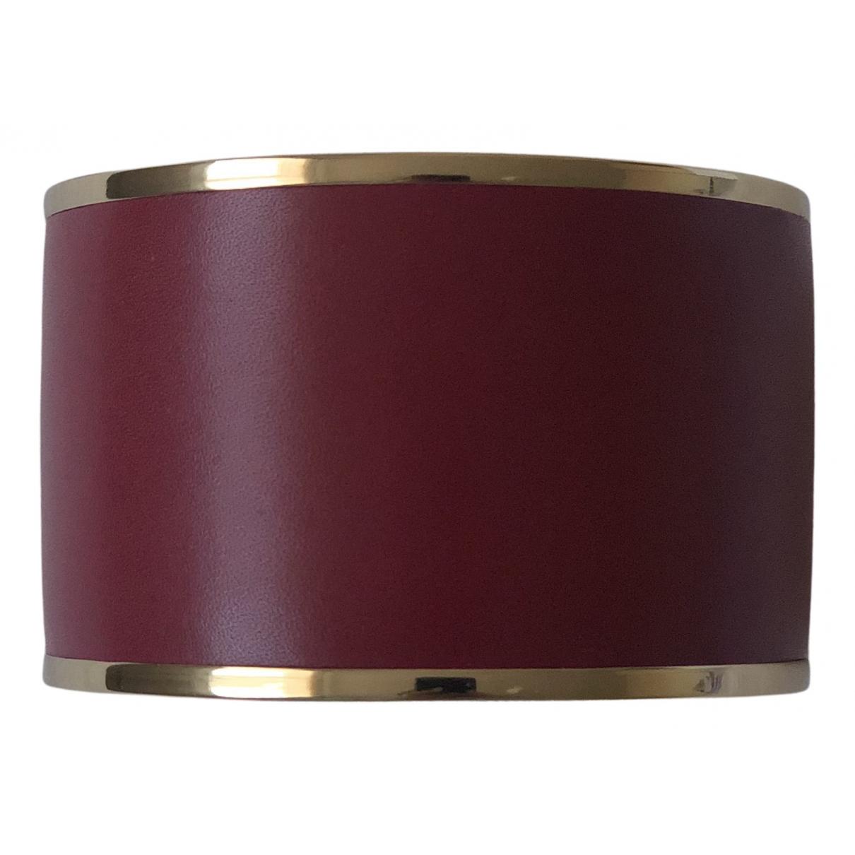 Manolo Blahnik \N Armband in  Bordeauxrot Metall