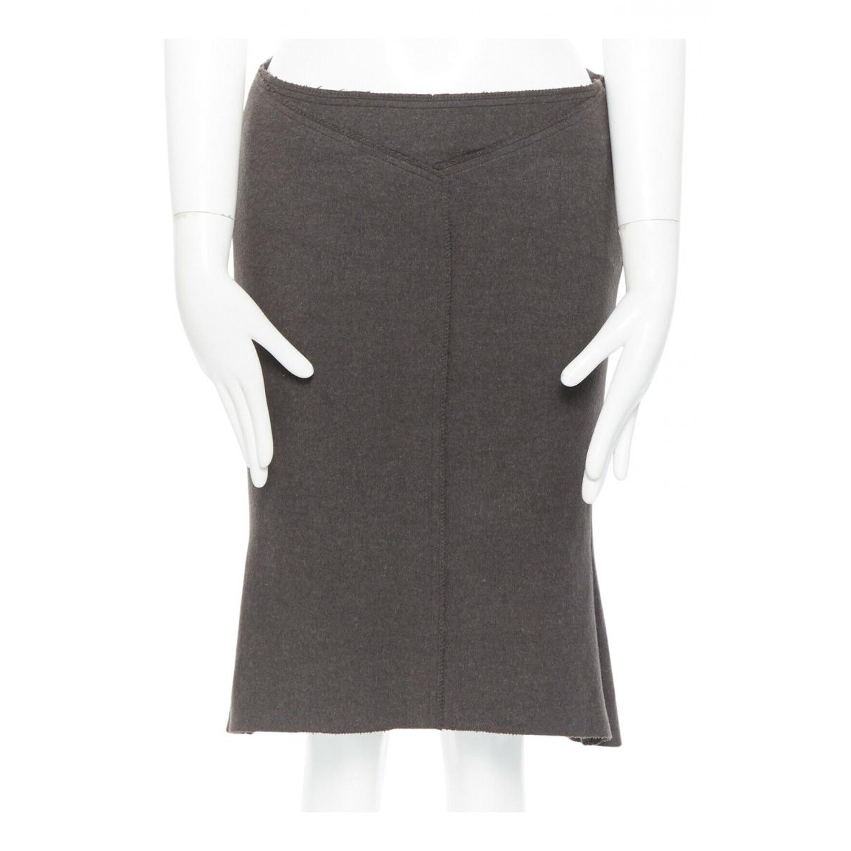 Roland Mouret - Jupe   pour femme en laine - gris