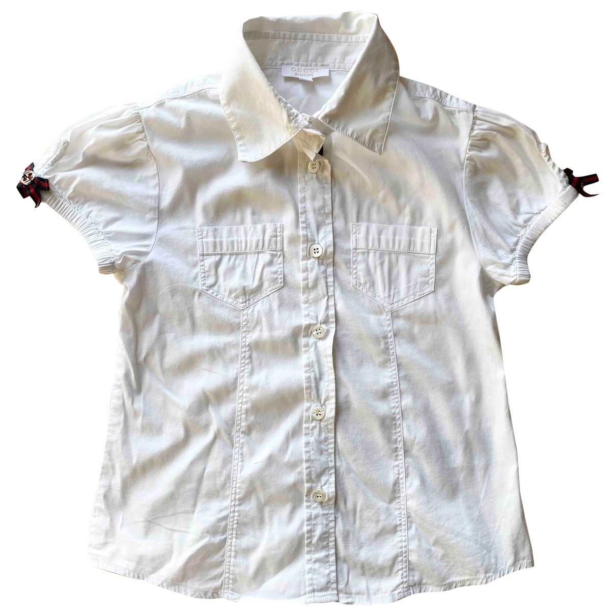 Gucci \N White Cotton  top for Kids 5 years - up to 108cm FR