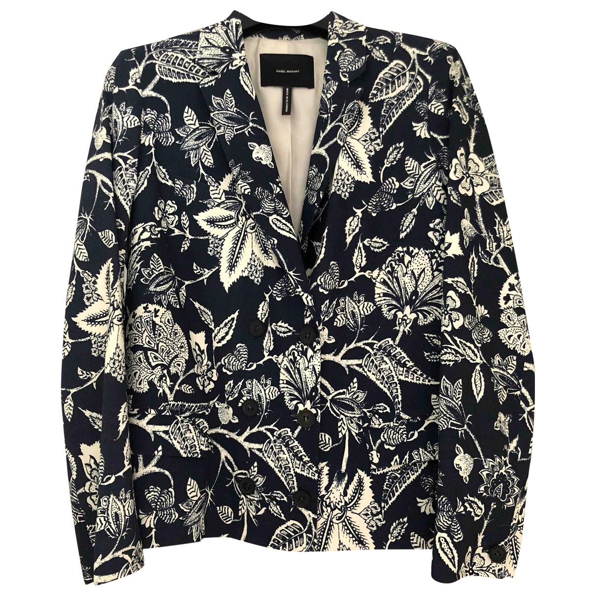 Isabel Marant \N Blue Linen jacket for Women 38 FR