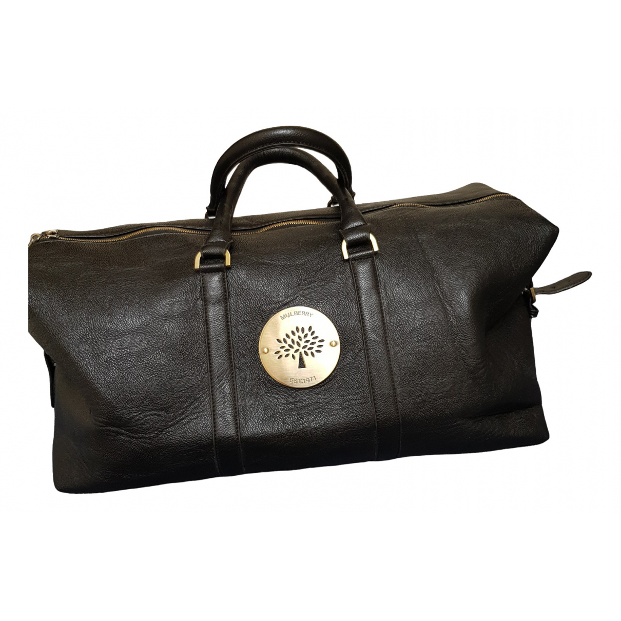 Mulberry \N Black Leather Travel bag for Women \N