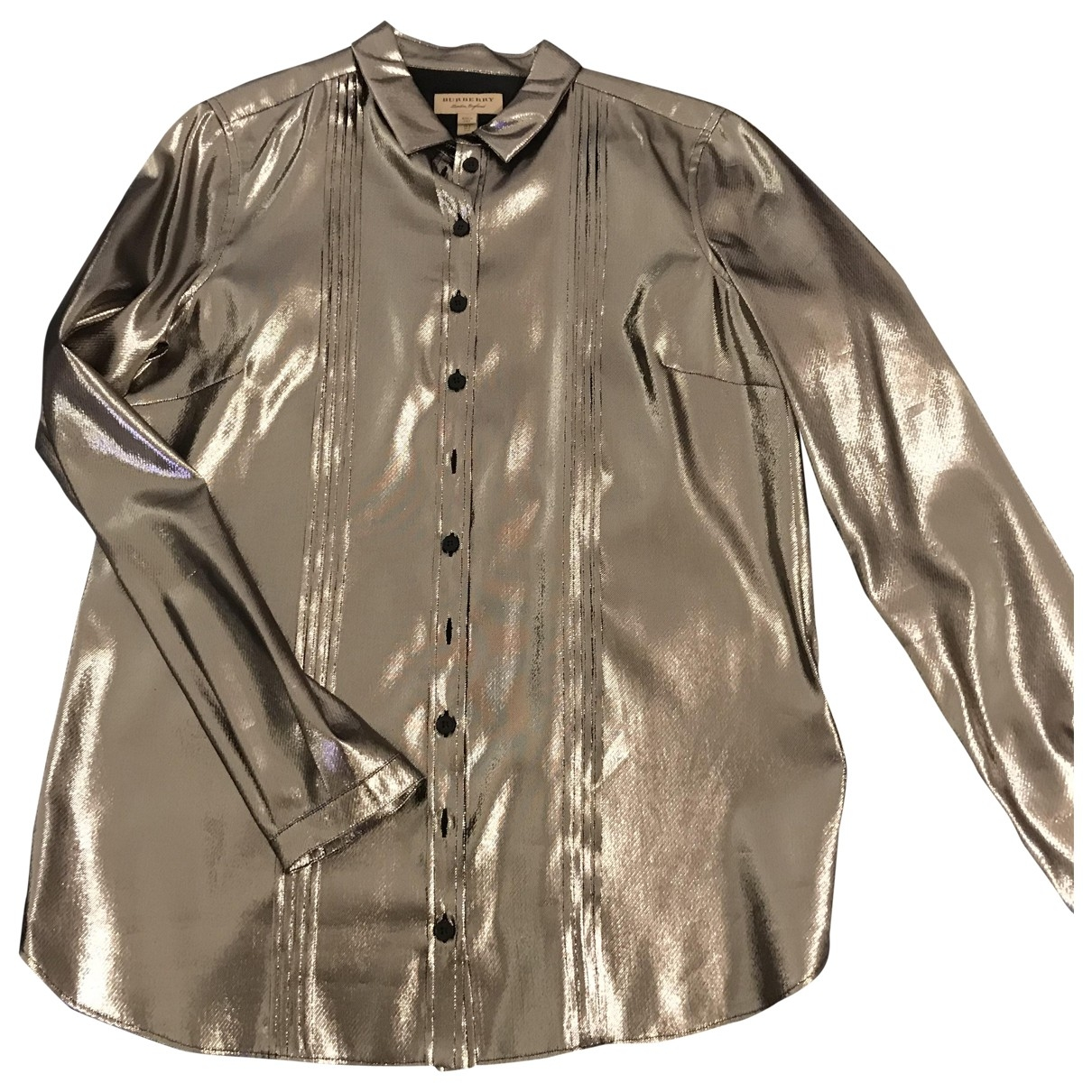 Burberry \N Top in  Silber Synthetik