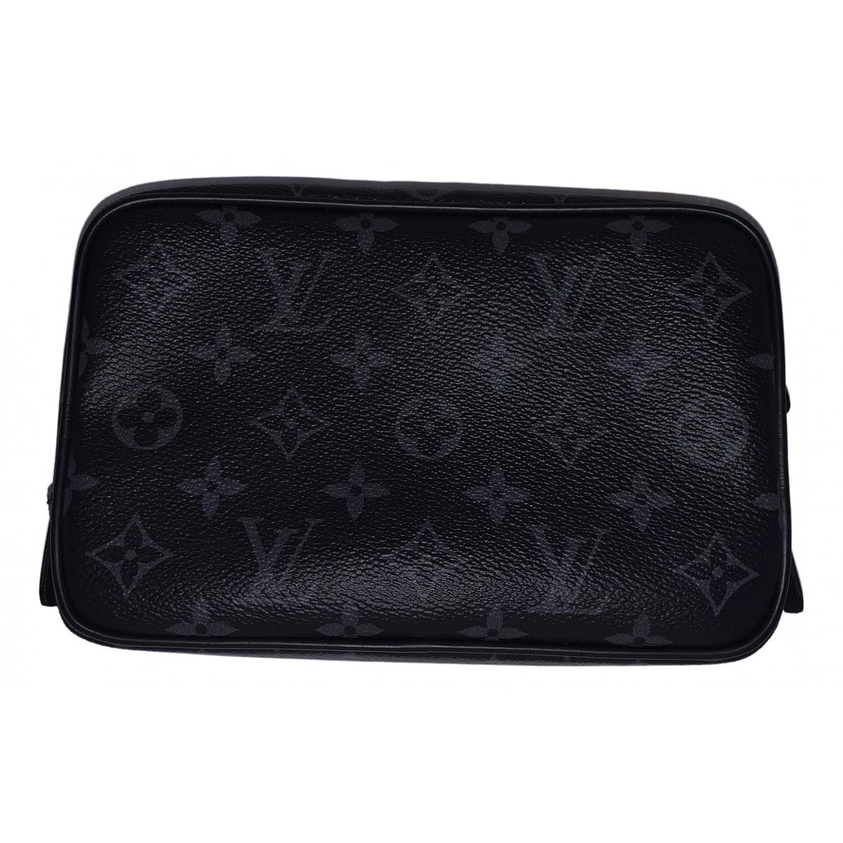 Louis Vuitton Trousse de toilette  Anthracite Cloth Small bag, wallet & cases for Men \N