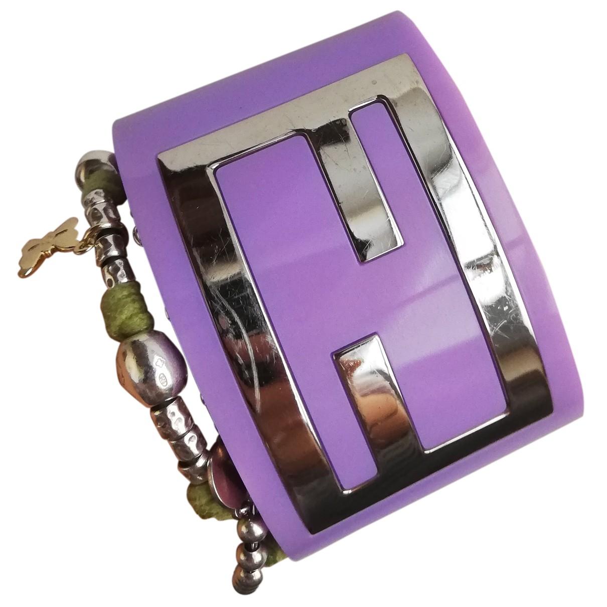 Fendi - Bracelet The Fendista pour femme - violet