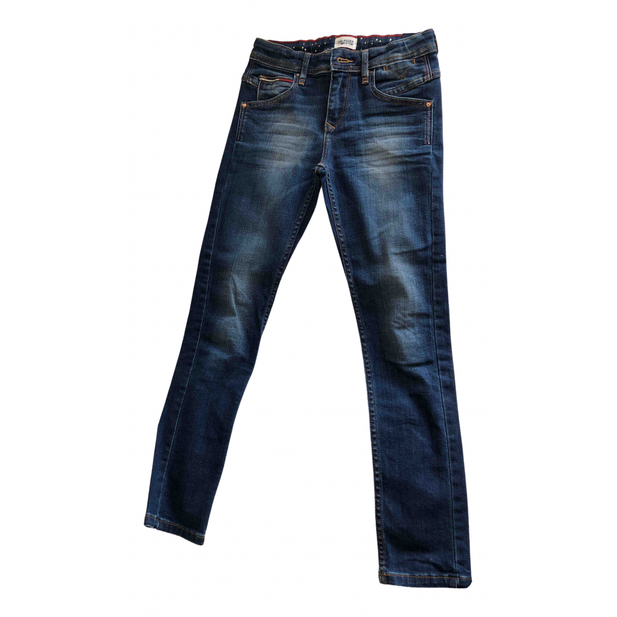 Hilfiger Collection \N Blue Cotton Trousers for Kids 10 years - up to 142cm FR