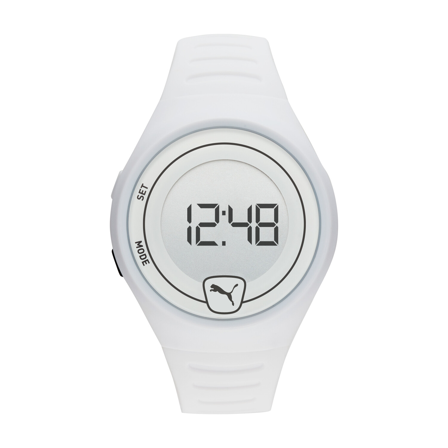 Puma Men's Faster P5027 White Polyurethane Automatic Self Wind Fashion Watch
