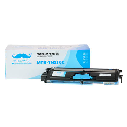 Compatible Brother MFC-9325CW Cyan Toner Cartridge by Moustache