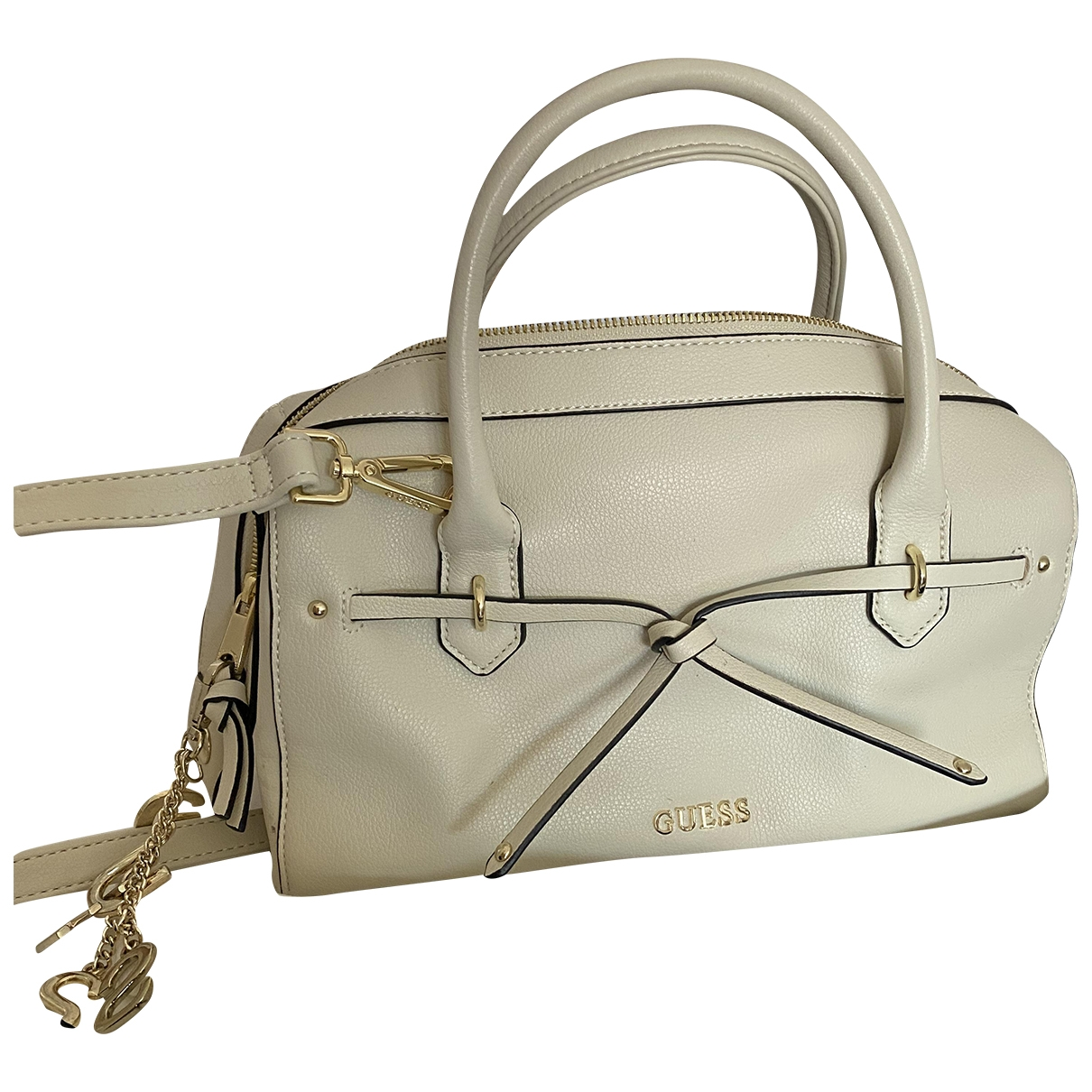 Guess \N Ecru handbag for Women \N