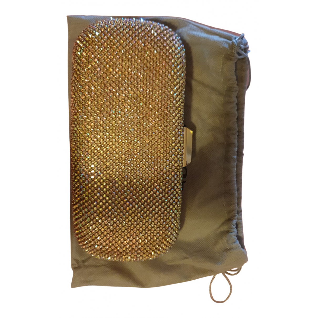 Liu.jo N Gold Glitter Clutch bag for Women N