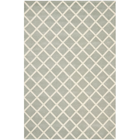 Safavieh Earl Geometric Hand Tufted Wool Rug, One Size , Gray