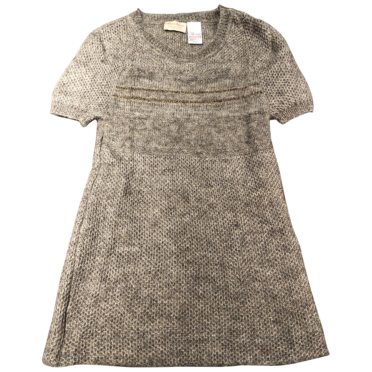 Vanessa Bruno \N Grey Wool dress for Kids 6 years - up to 114cm FR