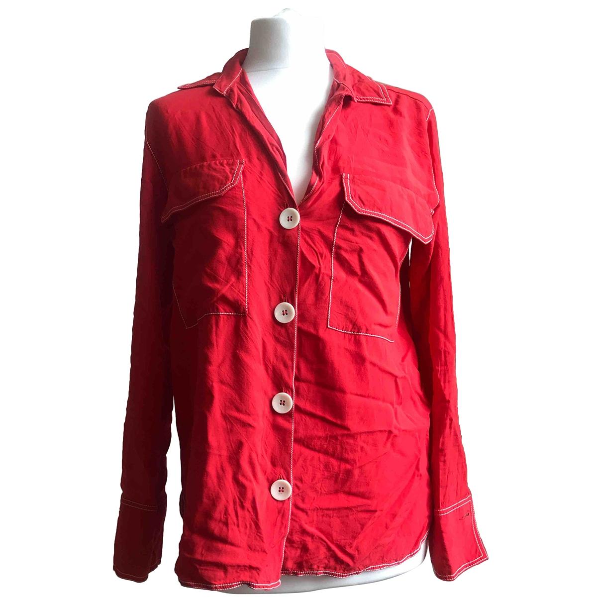 Zara \N Red  top for Women S International
