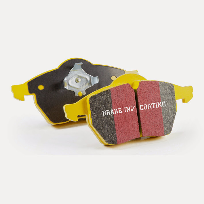 EBC Brakes DP41675R Yellowstuff Our Flagship range Front Disc Brake Pad Set FMSI D953 Lincoln Aviator Front 2003-2005 4.6L V8