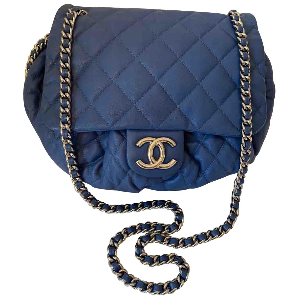 Bandolera Chain Around de Cuero Chanel
